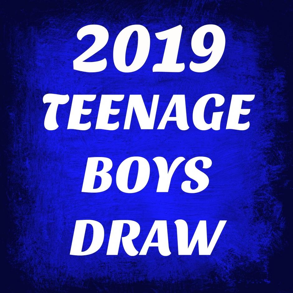 TEEN BOYS DRAW